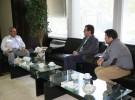 دیدار مدیرعامل سیمان سبزوار با مدیرکل راه آهن خراسان رضوی