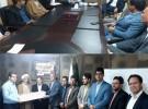 نشست مشترک مدیرعامل سیمان سبزوار با امام جمعه و مدیران منطقه روداب