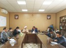 دیدار مدیر عامل سیمان سبزوار با امام جمعه و اعضای شورای شهر و بخشدار روداب